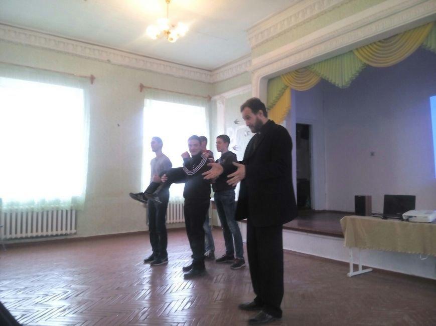 Социальный проект «Городские стражи» продолжает свое шествие по школам Красноармейска и района (фото) - фото 1