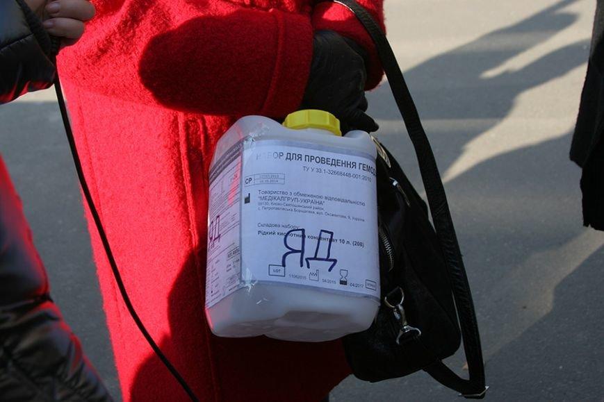 В Кривом Роге пациенты с почечной недостаточностью протестовали против поддельных медпрепаратов (ФОТО), фото-3