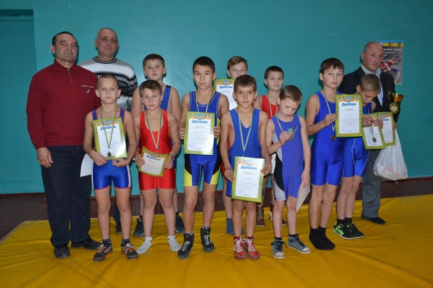 В Днепродзержинске прошел городской чемпионат по греко-римской борьбе, фото-23