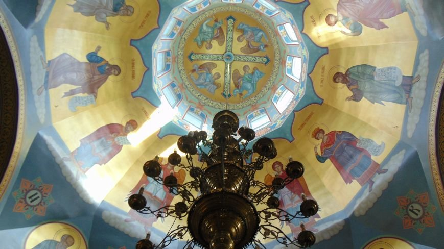 Уникальные фрески появились на своде мариупольского православного храма (ФОТОФАКТ) (фото) - фото 1