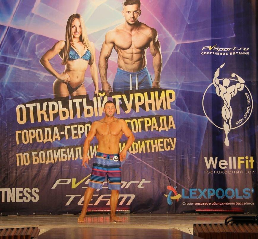 В Волгограде прошел первый турнир по бодибилдингу, фото-5