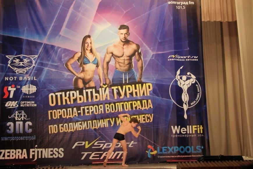 В Волгограде прошел первый турнир по бодибилдингу, фото-3