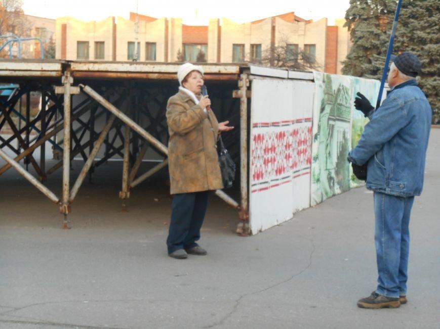 На воскресном вече в Славянске пели, читали стихи и просто общались (фото) (фото) - фото 4