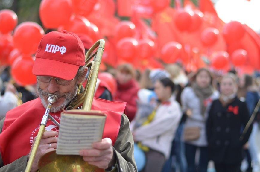 Массовым шествием и митингом в центре Симферополя отпраздновали крымские коммунисты годовщину Октябрьской революции (ФОТОРЕПОРТАЖ, ВИДЕО), фото-5