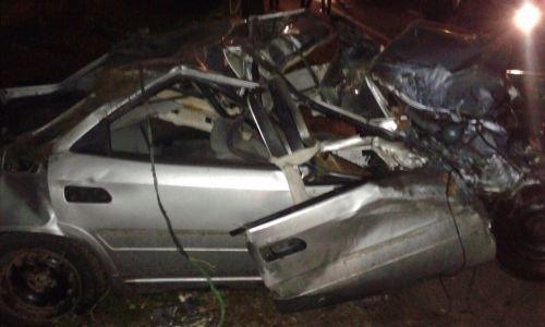 Возле Свислочи пьяный водитель разогнался до 160 км/ч и вылетел в кювет (фото) - фото 1