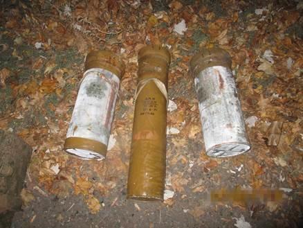 В Донецкой области нашли тайник с танковыми снарядами (ФОТО) (фото) - фото 1