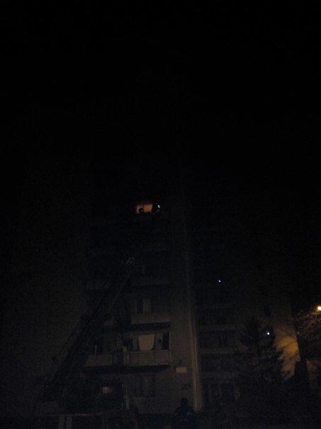 В Харькове горела жилая многоэтажка (фото) - фото 1