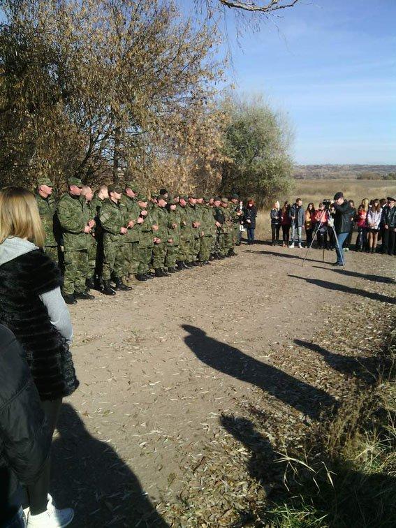 В Артемовске-Бахмуте открыли мемориал памяти погибшего бойца (ФОТО) (фото) - фото 1