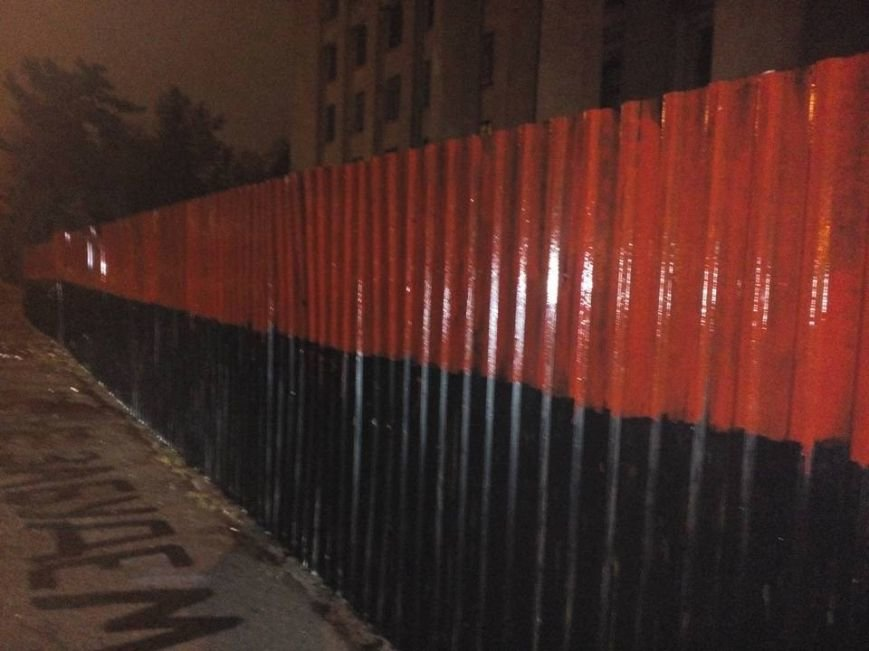 В Одессе вспыхнула заборная война (ФОТО) (фото) - фото 1