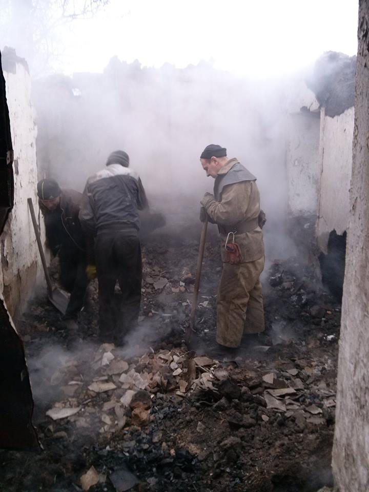 На Днепропетровщине во время ликвидации пожара спасатели обнаружили тела трех погибших (ФОТО), фото-4