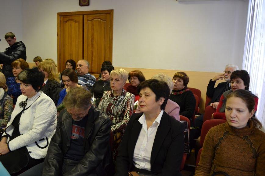 Работников культуры Днепродзержинска поздравили с профессиональным праздником, фото-2