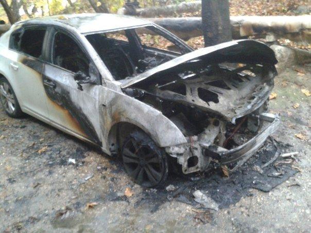 Череда поджогов автомобилей в Симферополе продолжается: Только за утро сгорело три машины (ФОТО) (фото) - фото 2