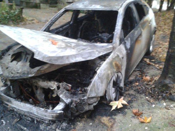 Череда поджогов автомобилей в Симферополе продолжается: Только за утро сгорело три машины (ФОТО) (фото) - фото 3