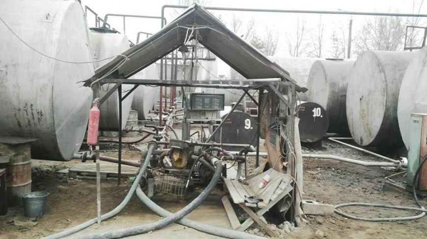 В Днепродзержинске обнаружили подпольный нефтеперерабатывающий завод, фото-1