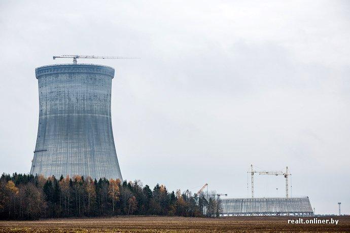 Фотофакт: строительство Островецкой АЭС идет полным ходом (фото) - фото 7