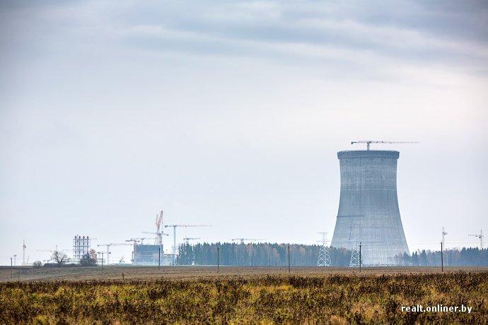 Фотофакт: строительство Островецкой АЭС идет полным ходом (фото) - фото 4