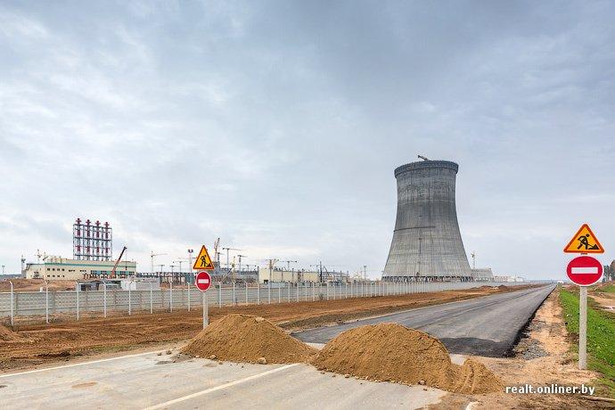 Фотофакт: строительство Островецкой АЭС идет полным ходом (фото) - фото 17