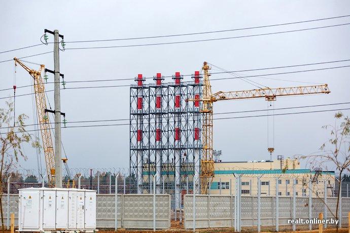 Фотофакт: строительство Островецкой АЭС идет полным ходом (фото) - фото 16