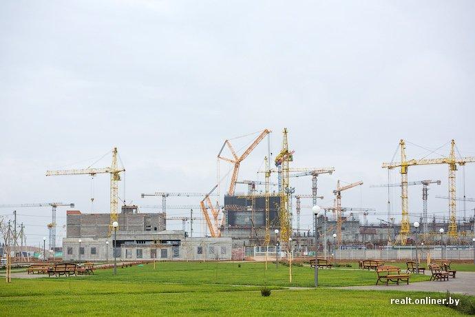 Фотофакт: строительство Островецкой АЭС идет полным ходом (фото) - фото 15
