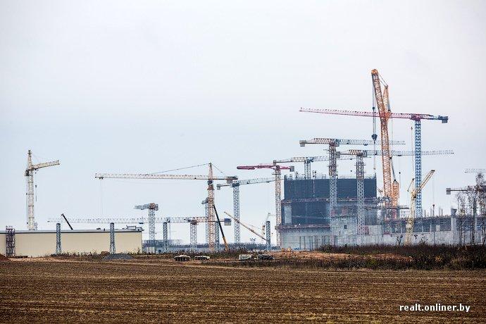 Фотофакт: строительство Островецкой АЭС идет полным ходом (фото) - фото 9