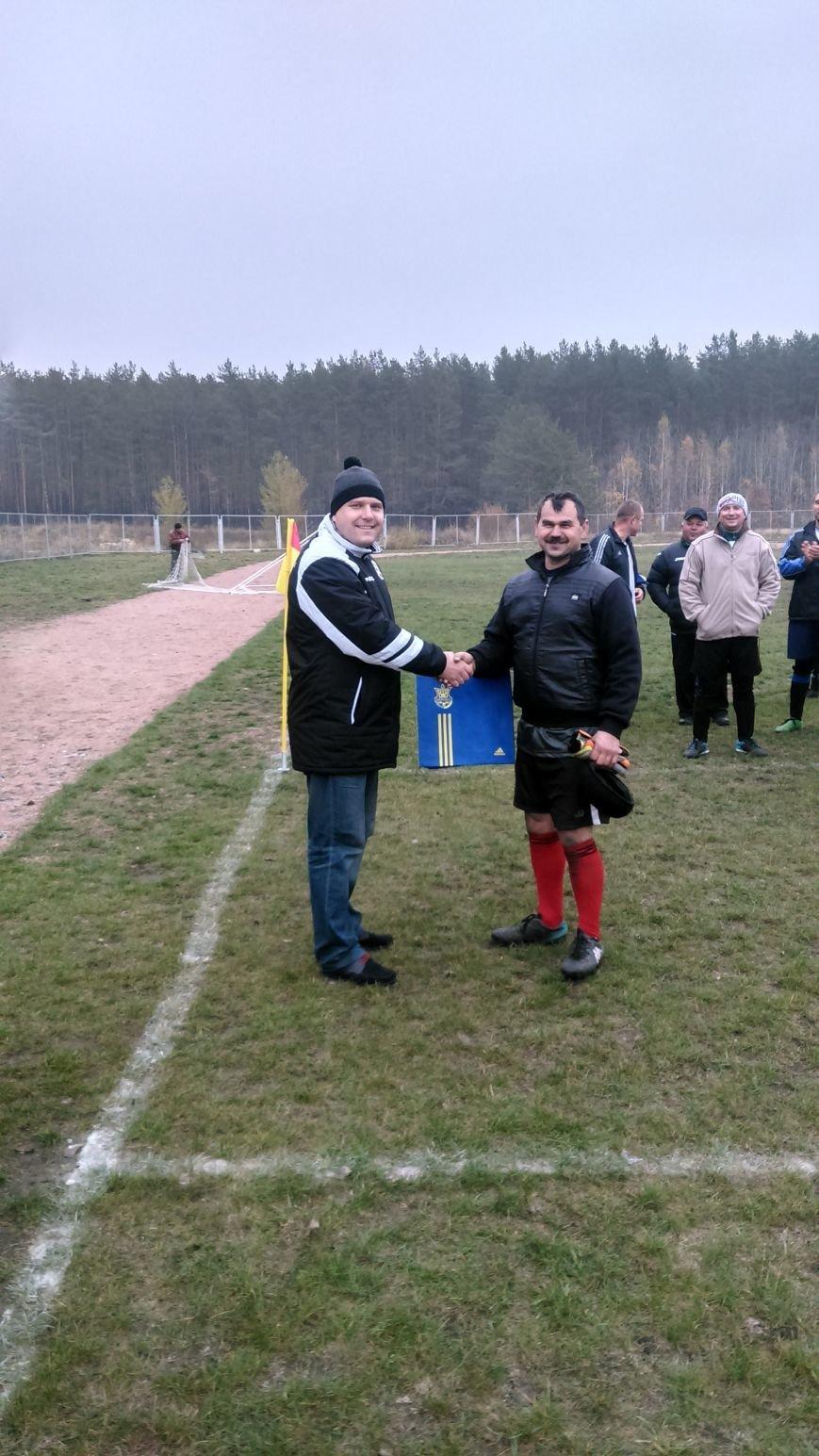 На Житомирщині відбувся футбольний турнір ветеранів, фото-1