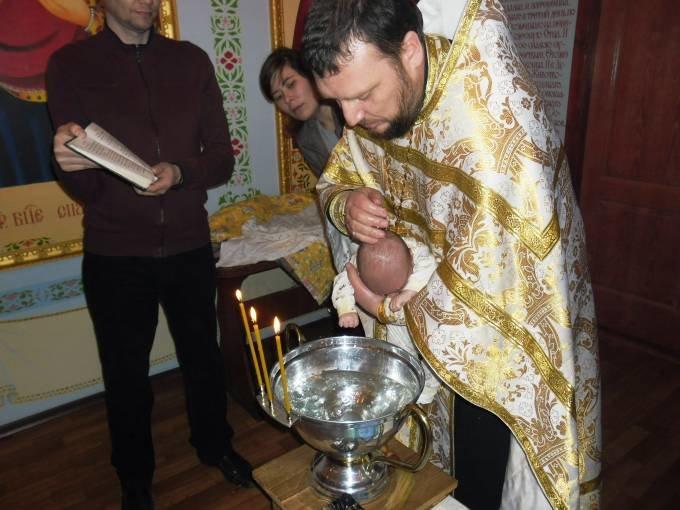 В Днепропетровском следственном изоляторе покрестили ребенка (ФОТО) (фото) - фото 2