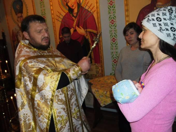 В Днепропетровском следственном изоляторе покрестили ребенка (ФОТО) (фото) - фото 4