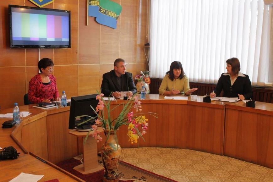 Депутаты Добропольского районного совета начали свою работу (ФОТО), фото-7