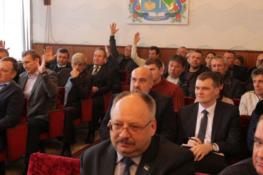 Депутаты Добропольского районного совета начали свою работу (ФОТО), фото-5