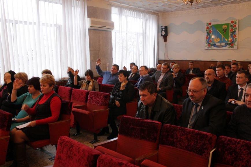 Депутаты Добропольского районного совета начали свою работу (ФОТО), фото-8