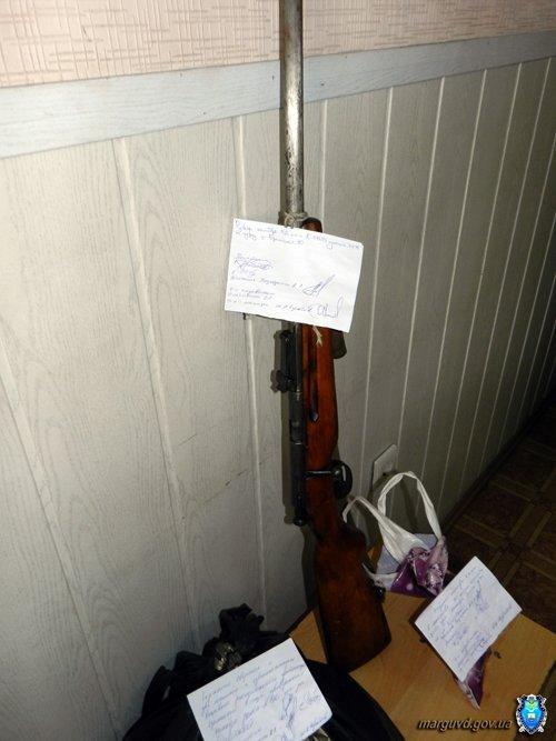 Ружье, два самопала и 90 патронов без документов правоохранители обнаружили в доме мариупольца (ФОТО), фото-3