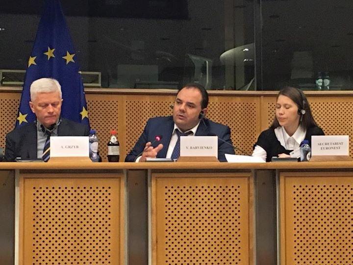 97a490789e5e907df068370abea59fa7 Повышение: одесский депутат занял кресло в Европарламенте