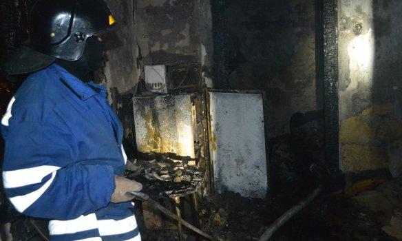 Дотусовались: в Одессе вечером горело общежитие (ФОТО) (фото) - фото 1