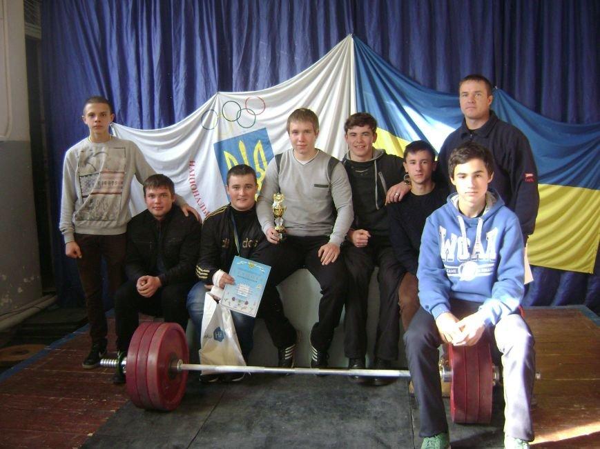 Команда Доброполья заняла І место В Кубке Донецкой области по тяжелой атлетике (фото) - фото 1