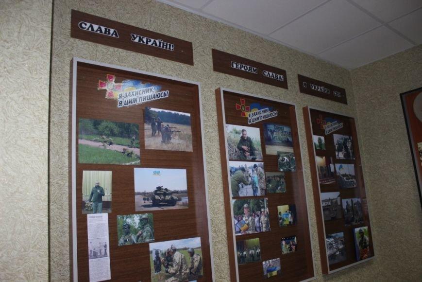 В школе Чернигова открыли музей, посвященный участникам АТО (фото) - фото 1