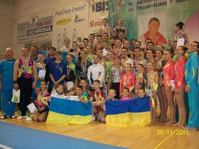На міжнародних змаганнях у Польщі, львівські акробати не залишилися без нагород (фото) - фото 1