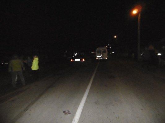 В Скиделе пьяный велосипедист отправился за спиртным и был сбит автомобилем (Фото 18+) (фото) - фото 1