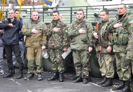 Як в Полтаві правоохоронців до зони АТО проводжали (фото, відео) (фото) - фото 5