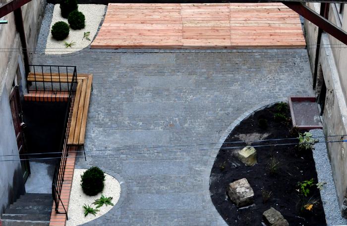 На вулиці Газовій впорядкували внутрішній двір (ФОТО) (фото) - фото 1