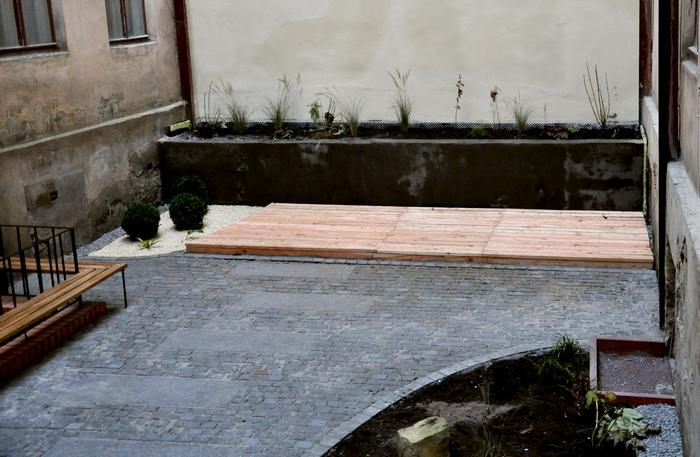 На вулиці Газовій впорядкували внутрішній двір (ФОТО) (фото) - фото 5