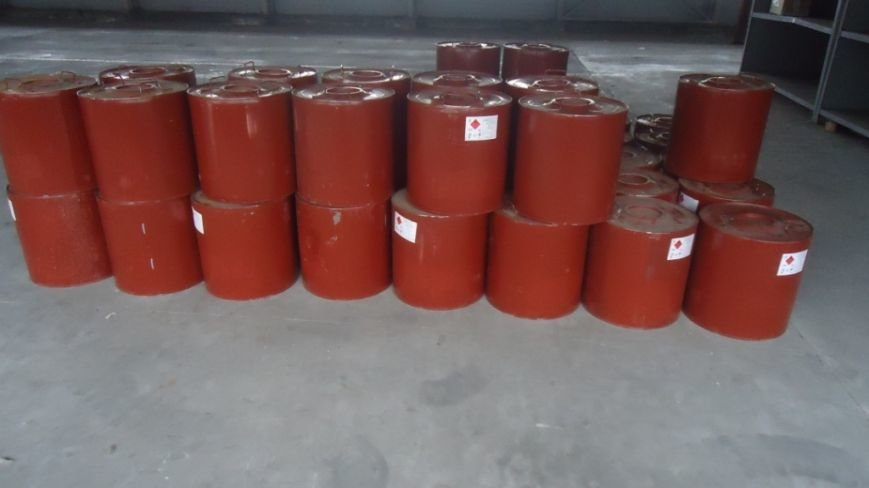 В Запорожье пытались провезти 2 тонны ядовитой краски, - ФОТО (фото) - фото 1