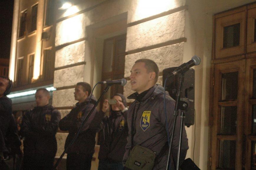 На марше «Азова» в Запорожье жгли фаера и флаги, - ФОТОРЕПОРТАЖ, фото-10