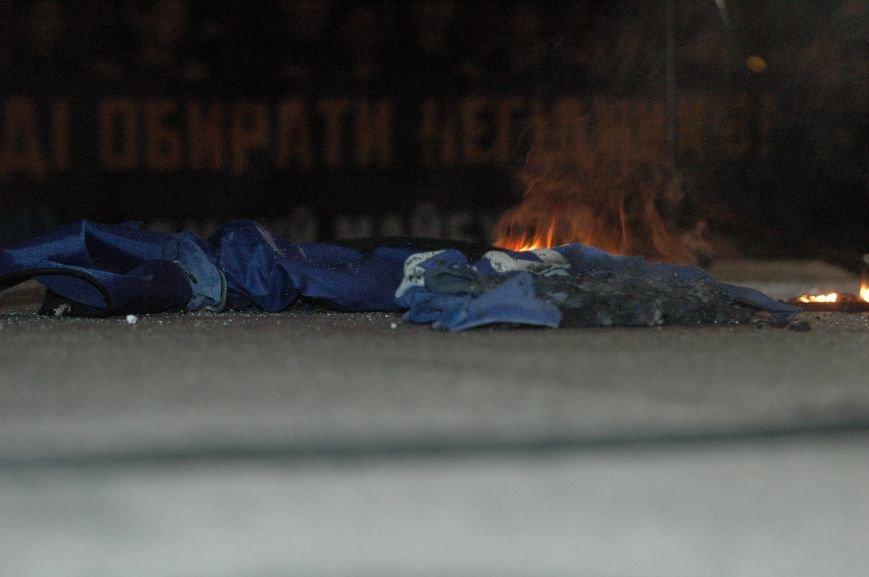 На марше «Азова» в Запорожье жгли фаера и флаги, - ФОТОРЕПОРТАЖ, фото-12