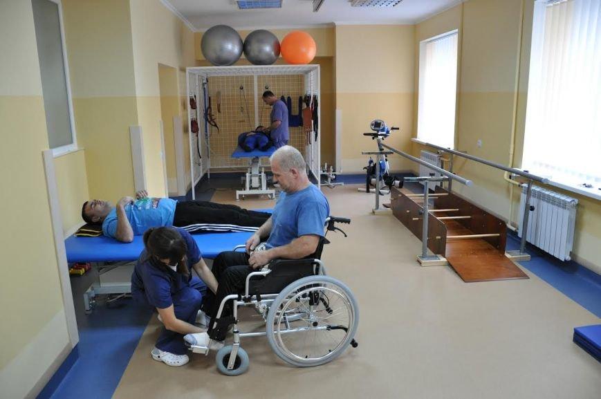 В одній із комунальних лікарень Львова відкрили реабілітаційне відділення (ФОТО+ВІДЕО) (фото) - фото 2