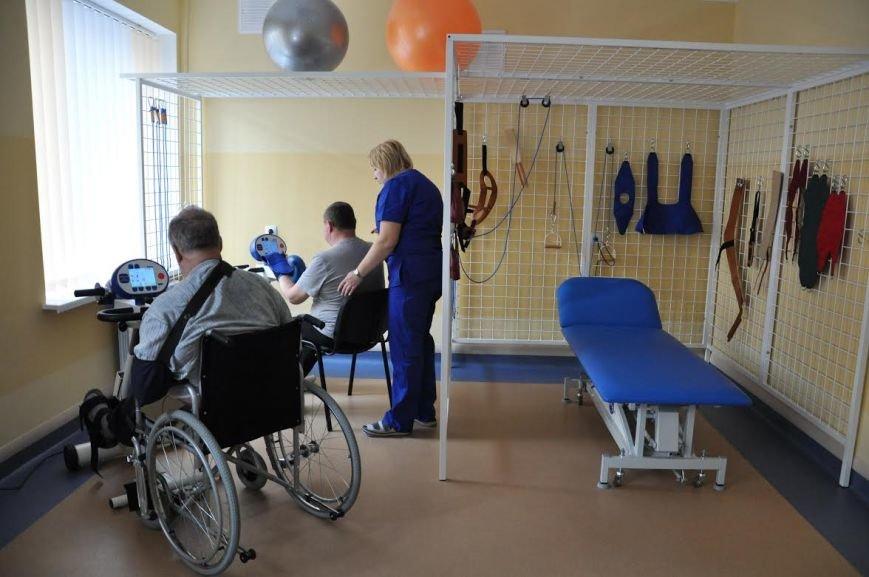 В одній із комунальних лікарень Львова відкрили реабілітаційне відділення (ФОТО+ВІДЕО) (фото) - фото 1