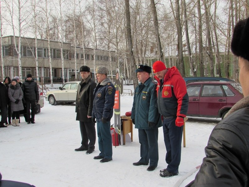 В Полевском эвакуировал администрацию города (фото) - фото 1