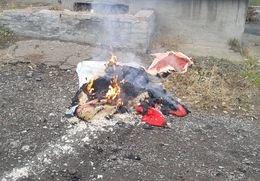 В Артемовске-Бахмуте во время пожара погиб мужчина (фото) - фото 1
