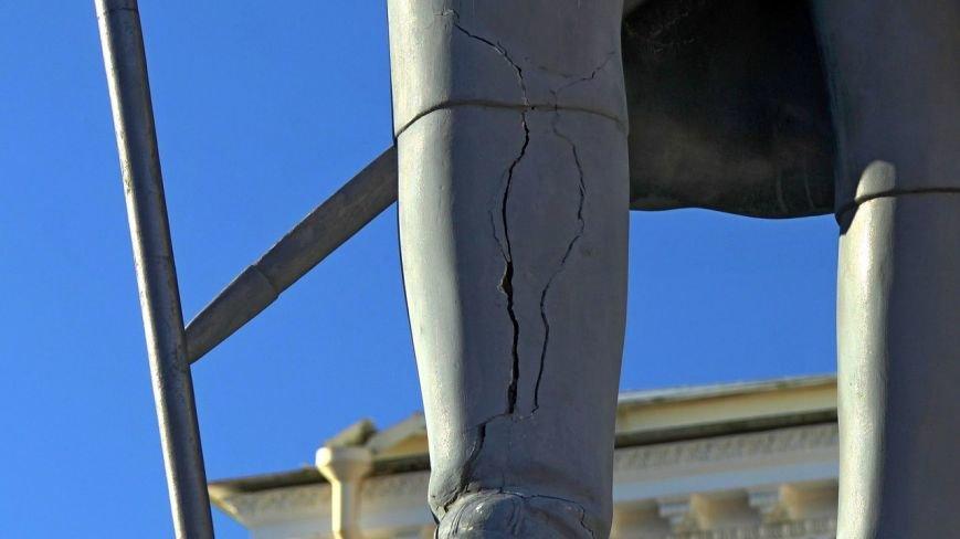 ГМЗ «Павловск» объяснил, почему не реставрируют памятник Павлу I (фото) - фото 1