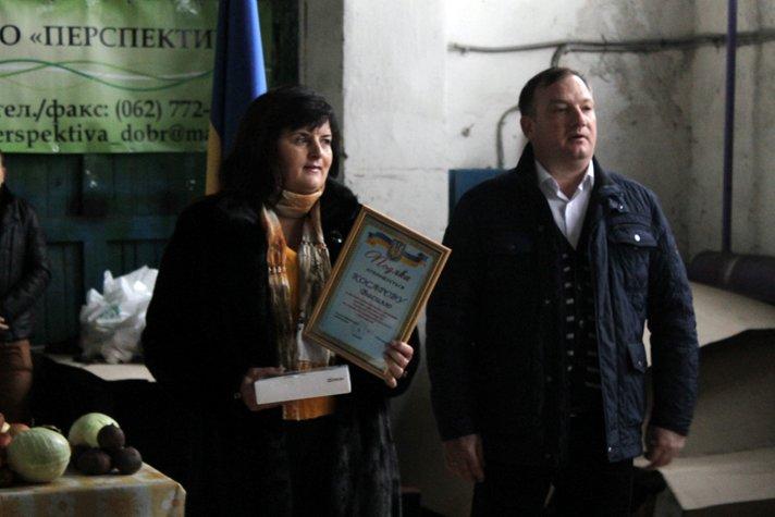 Добропольский районный совет поздравил работников сельского хозяйства, фото-3