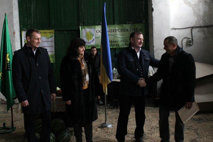 Добропольский районный совет поздравил работников сельского хозяйства, фото-15